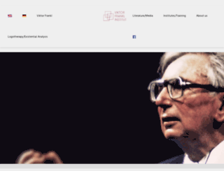 viktorfrankl.org screenshot