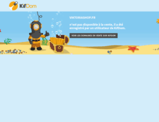 viktoriashop.fr screenshot