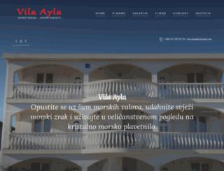vila-ayla.com screenshot