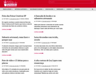 viladoartesao.com.br screenshot