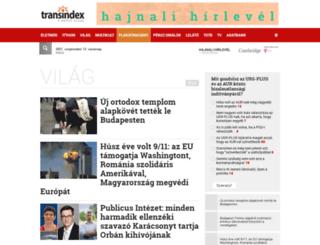 vilag.transindex.ro screenshot