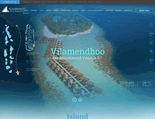 vilamendhooisland.com screenshot
