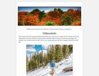 vildmarks.se screenshot
