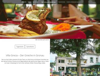 villa-grecia.de screenshot