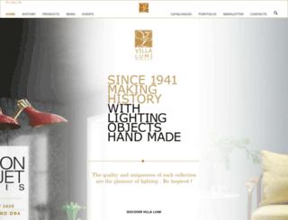 villa-lumi.com screenshot