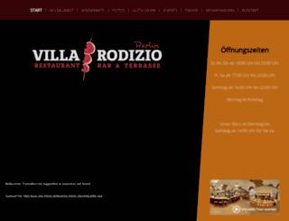 villa-rodizio.de screenshot