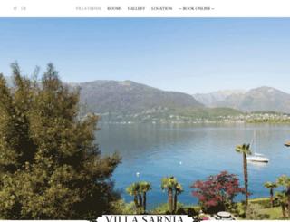 villa-sarnia.ch screenshot