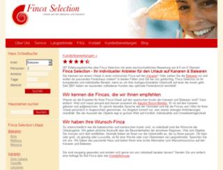 villa-selection.com screenshot