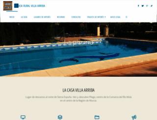 villaarriba.com screenshot