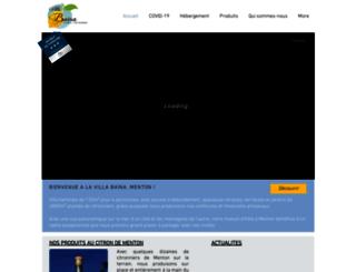 villabaina.com screenshot