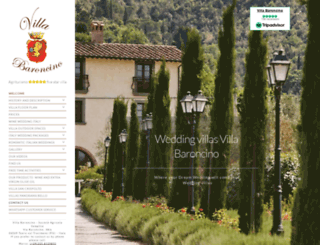 villabaroncino.com screenshot