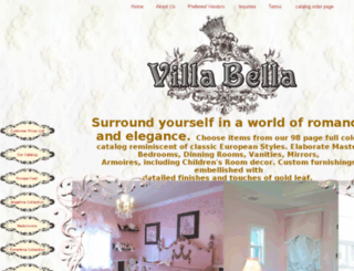 villabella.homestead.com screenshot