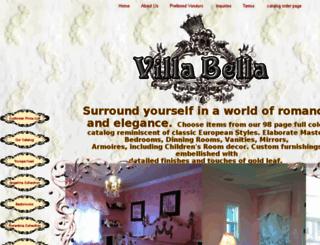 villabella.homestead.com screenshot