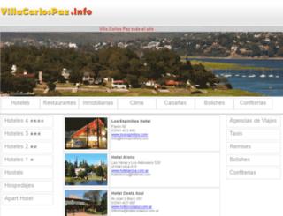 villacarlospaz.info screenshot