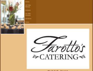 villafarottocatering.com screenshot