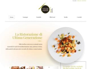 villafood.it screenshot