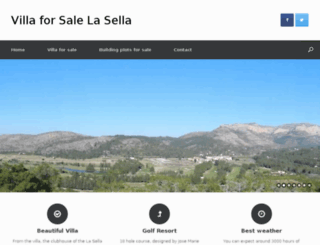 villaforsalelasella.com screenshot