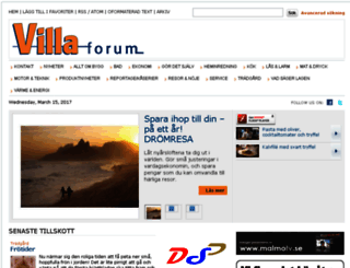 villaforum.se screenshot