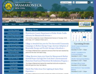village.mamaroneck.ny.us screenshot