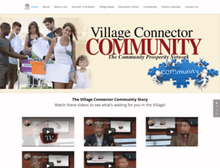 villageconnector.com screenshot