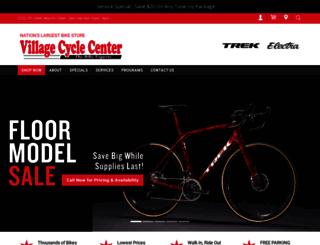 villagecycle.com screenshot