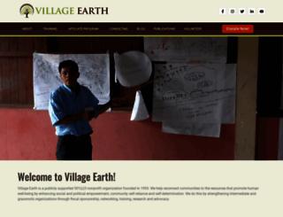 villageearth.org screenshot