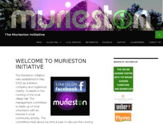 villagehall.murieston.info screenshot