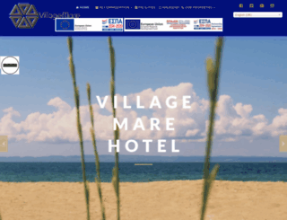 villagemare.gr screenshot