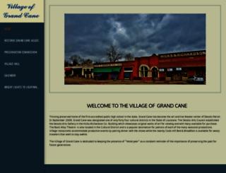 villageofgrandcane.com screenshot