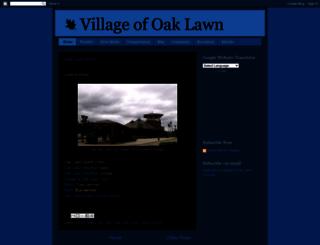 villageofoaklawn.blogspot.com screenshot