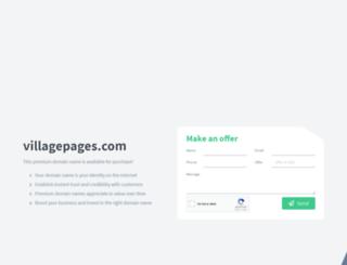 villagepages.com screenshot