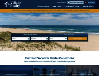 villagerealtyobx.com screenshot