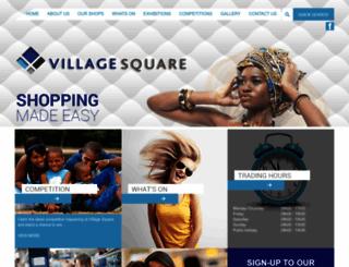 villagesquareshoppingcentre.co.za screenshot