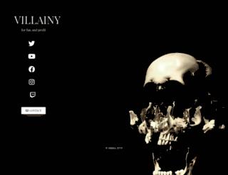 villainy.media screenshot