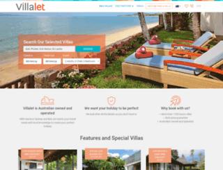 villalet.com screenshot