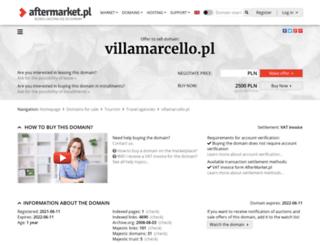 villamarcello.pl screenshot