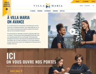 villamaria.qc.ca screenshot