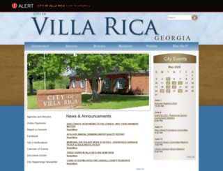 villarica.municipalcms.com screenshot