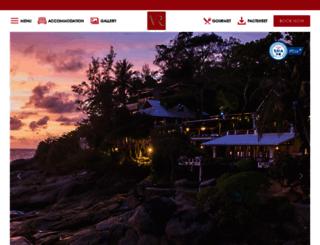 villaroyalephuket.com screenshot