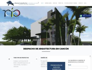 villarrealarquitectos.com screenshot