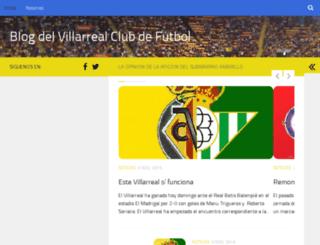 villarrealclubdefutbol.com screenshot