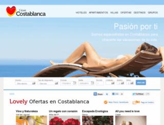 villas-bungalows.encostablanca.com screenshot