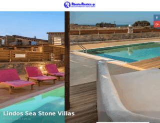 villas-rhodes.com screenshot