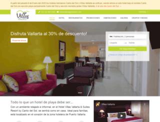 villas-vallarta.com screenshot