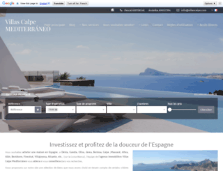villascalpe.com screenshot