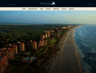 villasofameliaisland.com screenshot