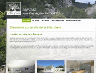 villaviana.fr screenshot