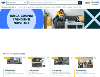 villavicencio.olx.com.co screenshot