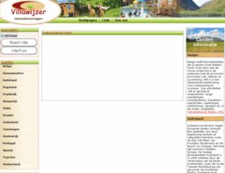 villawijzer.nl screenshot