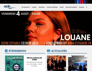 ville-agde.fr screenshot